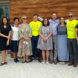 Poznańscy Lioni pomogli w wyposażeniu Domu Autysty i naszego ogrodu